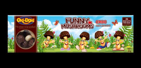 Oki-Doki Chocolate Funny Mushrooms Box