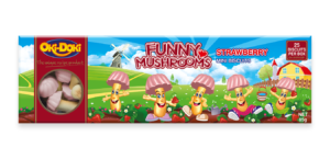 Oki-Doki Strawberry Funny Mushrooms Box